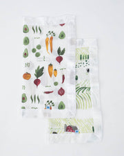 Cotton Muslin Security Blankets - Rolling Hills + Farmers Market