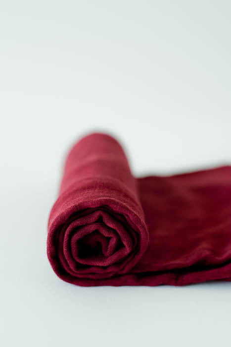 Deluxe Muslin Swaddle Single - Pomegranate