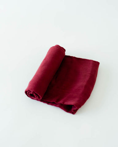 Deluxe Swaddle - Pomegranate