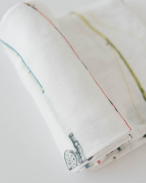 Deluxe Swaddle - Rod and Reel