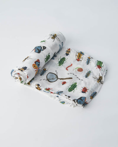Deluxe Swaddle - Bugs
