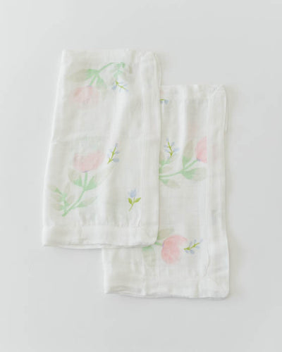 Deluxe Security Blankets - Pink Peony