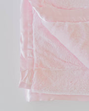 Plush Receiving Blanket - Pink