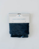 Plush Security Blanket - Navy