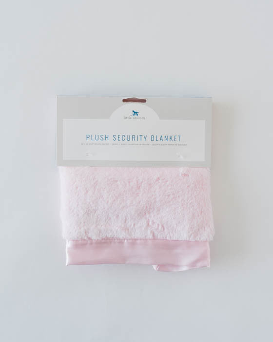 Plush Security Blanket - Pink