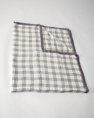 Big Kid Deluxe Muslin Quilt  - Pendleton Plaid