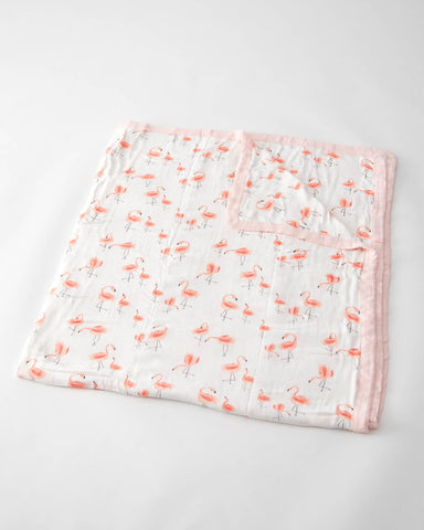 Big Kid Deluxe Muslin Quilt  - Pink Ladies