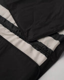 5 x 7 Outdoor Blanket - Black and White Stripe