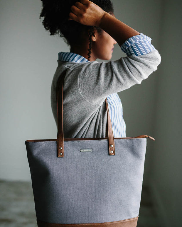 Boardwalk Tote - Grey