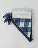 Cotton Muslin Bandana Bib - Jack Plaid