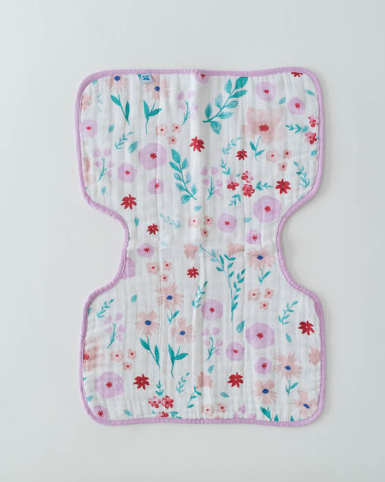 Cotton Muslin Burp Cloth - Morning Glory