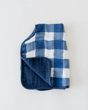 Cotton Muslin Burp Cloth - Jack Plaid