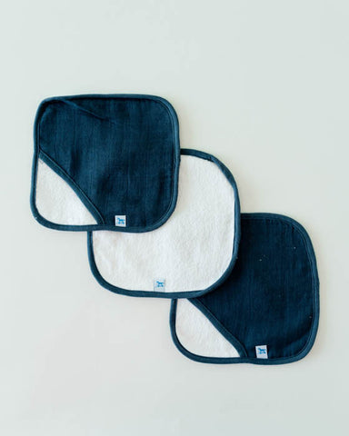 Washcloth Set - Indigo Wash