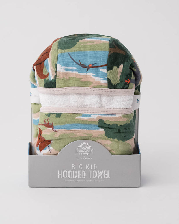 LU + Jurassic World Big Kid Hooded Towel - Jurassic World
