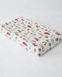Cotton Changing Pad Cover - Farmers Market