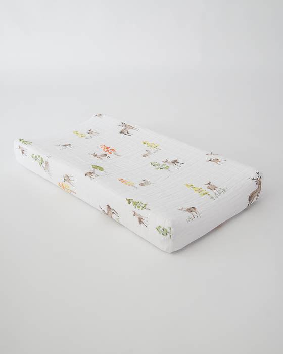 Cotton Changing Pad Cover - Oh Deer