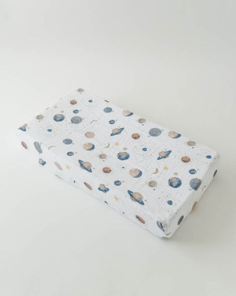 Brushed Changing Pad Cover - Planetary