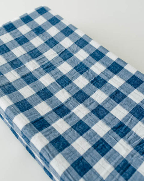 Brushed Changing Pad Cover - Jack Plaid