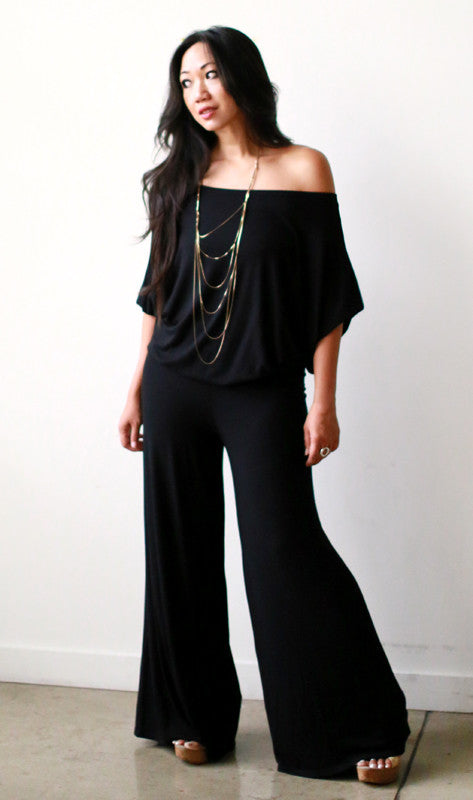 Astrid Jumpsuit (Black)