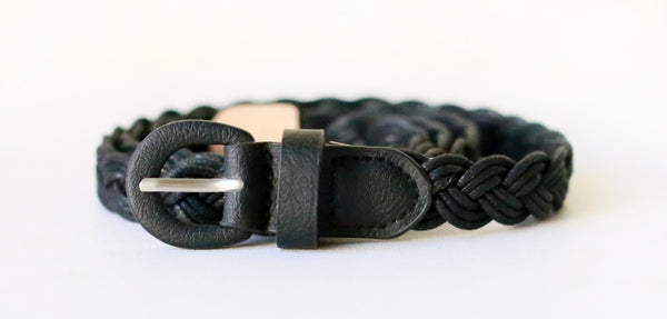 Braided Belt (Black)