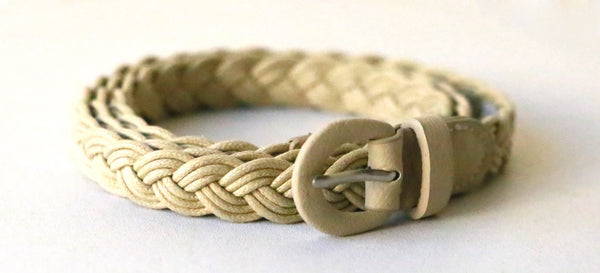Braided Belt (Ivory)