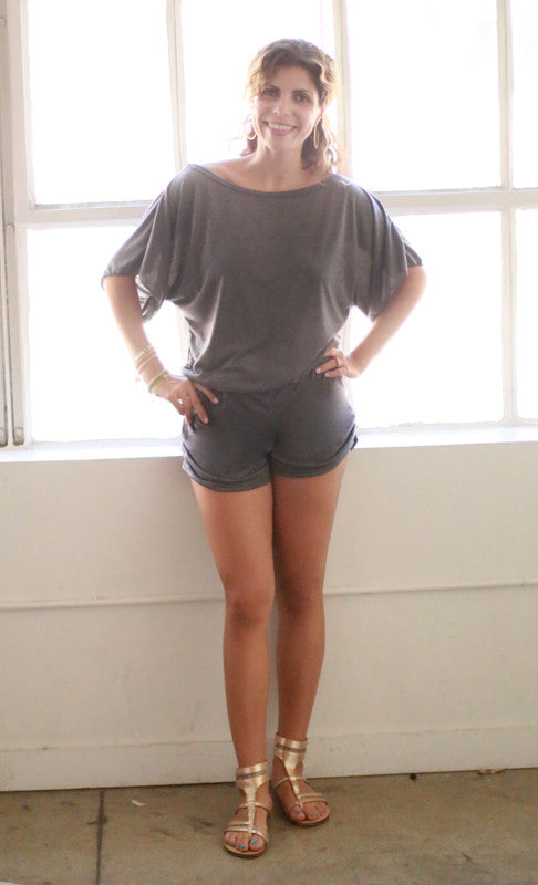 Esther Shorts (Charcoal)