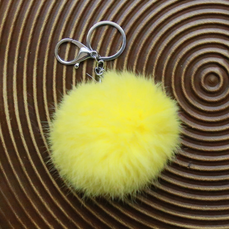 Frou Frou Furry w/Chain (Canary)