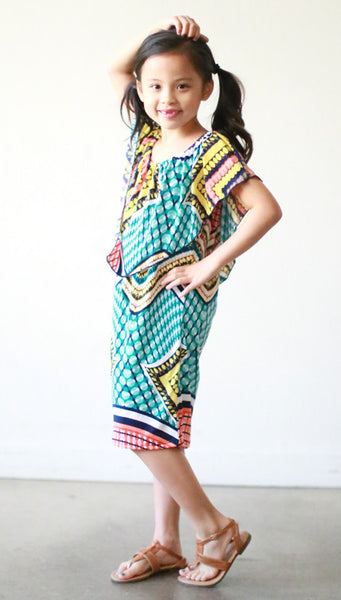 Girls Zenaida Dress (Fiesta)