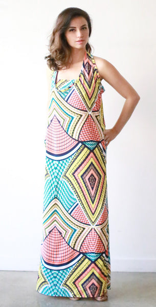 Sarah Tank Dress w/ Bandeau (Fiesta)