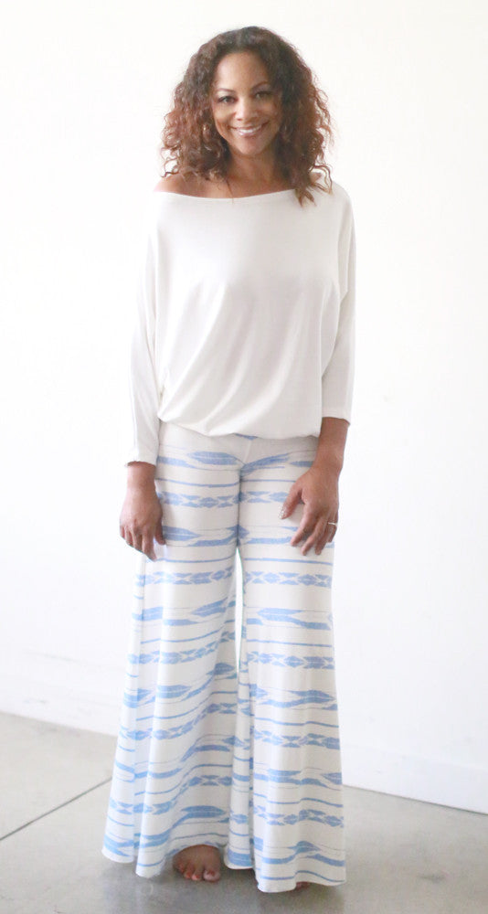 Monte Carlo Pants (Icicle Ikat)