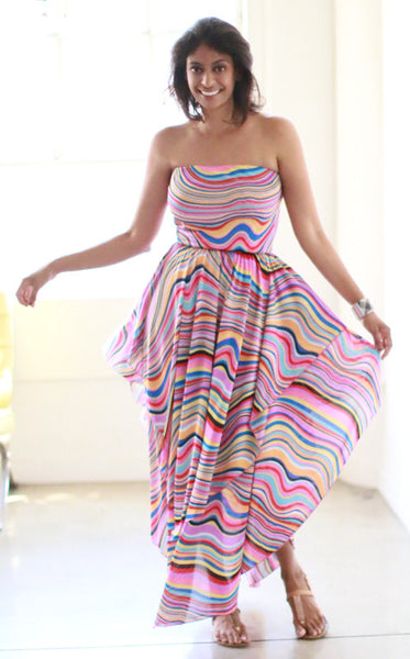 Iceis Dress (Lollipop Swirl)