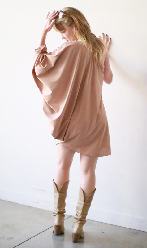 Chrissy Mini Dress (Morganite)
