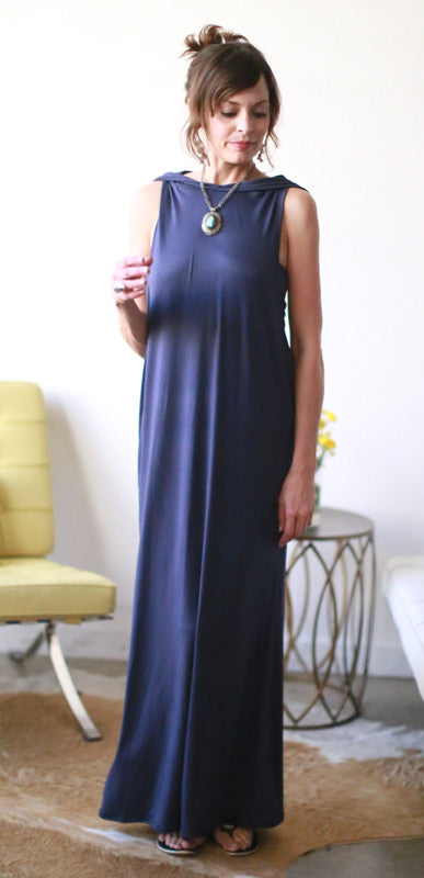 Maddy Dress (Navy)
