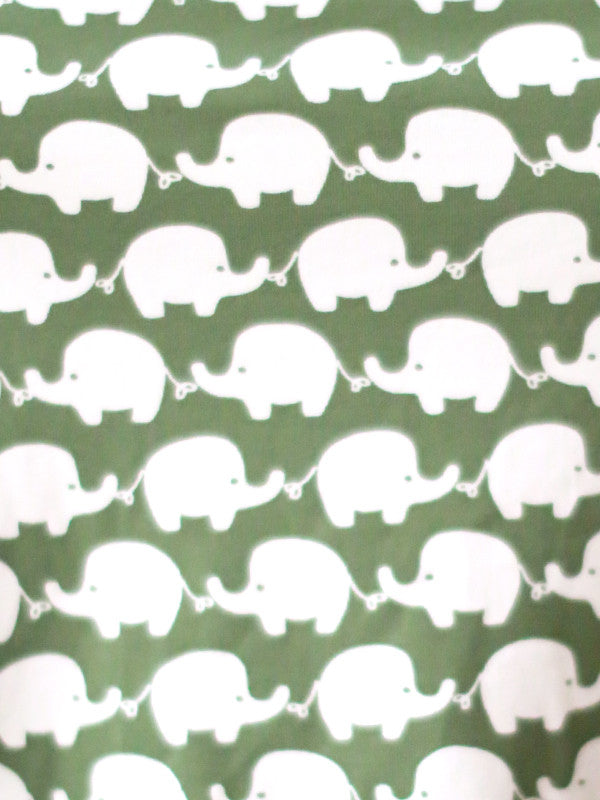 Annette Top (Olive Elephants)