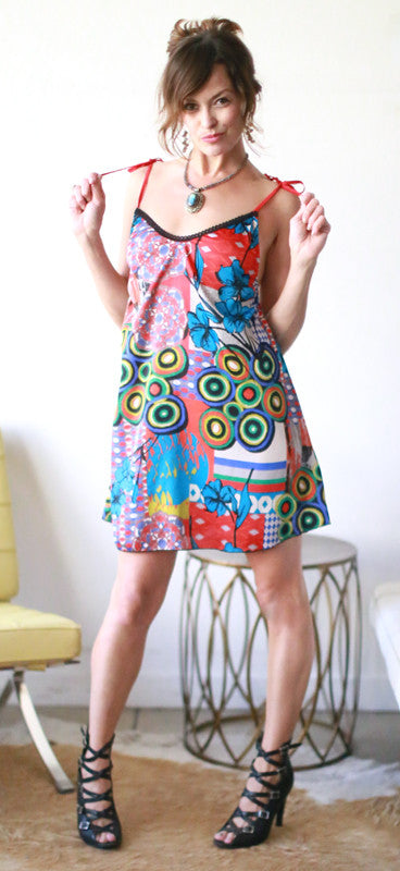 Ella Mini Dress (Pop Art)