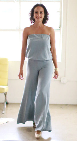 Annette Jumpsuit (Powder Blue)