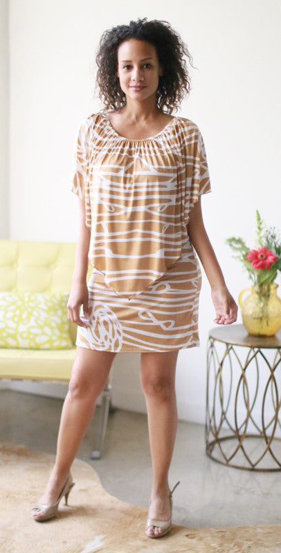 Zenaida Mini Dress (Tiare)