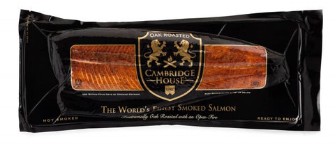 Smoked Salmon, Cambridge House Honey Oak Roasted (Full Side)