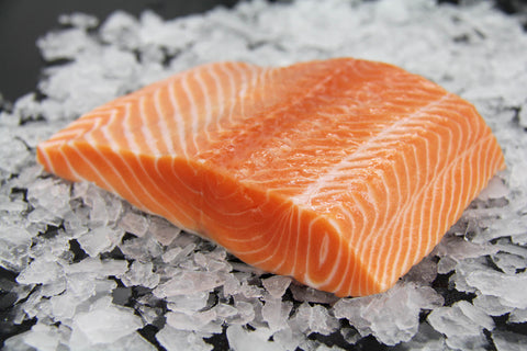 Frozen Farmed SAIKOU Sushi Grade Mt. Cook Salmon Fillet (Sake)