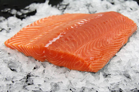 King Salmon Fillet, Wild, Fresh