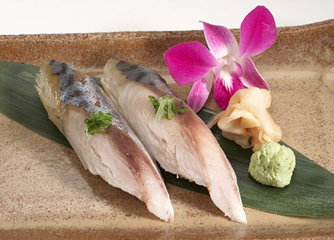 Marinated Mackerel (Shime Saba) Fillet, Frozen