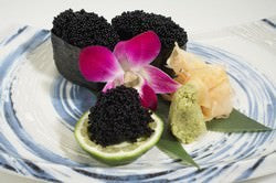 Frozen Sashimi Grade Black Flying Fish Eggs (Tobiko)