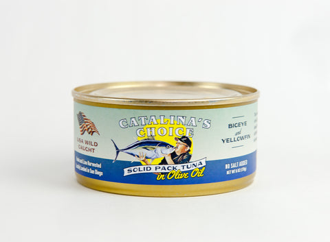 Solid Pack Tuna in Olive Oil - Catalina's Choice