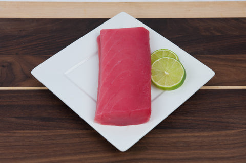 Frozen Sashimi Grade Yellowfin (Ahi) Tuna (Saku Block)