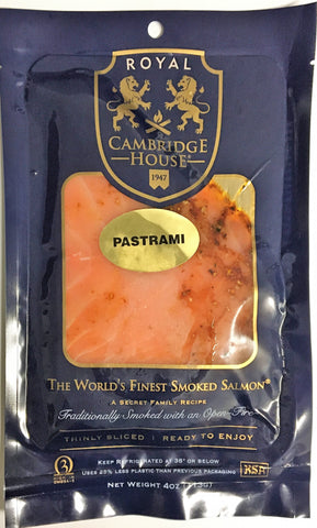 Smoked Salmon, Cambridge House Pastrami