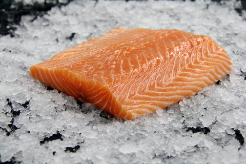 Frozen Farmed Sushi Grade Canadian Salmon Fillet (Sake)