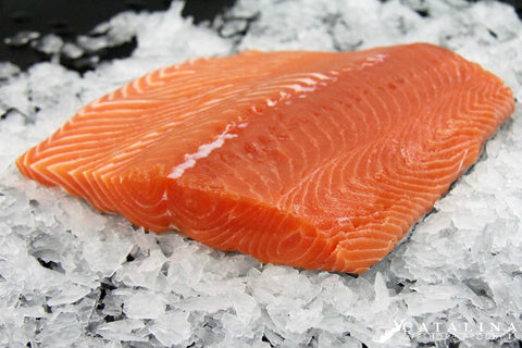King Salmon Fillet, Wild, Frozen