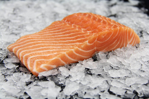 Sashimi Grade Salmon (Sake) Fillet, Faroe Islands Farmed, Frozen