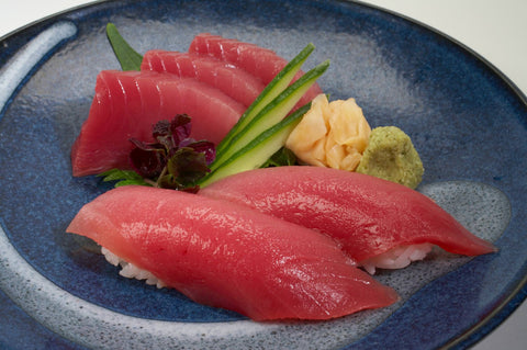 Bluefin Loin (Maguro), Fresh Farmed Sashimi Grade Pacific Tuna