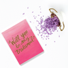 Will you be my Bridesmaid? Wedding Greeting Card Wishes Quotes
